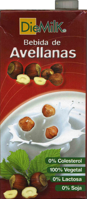 Bebida De Avellanas - boisson noisettes 1 L - Producto