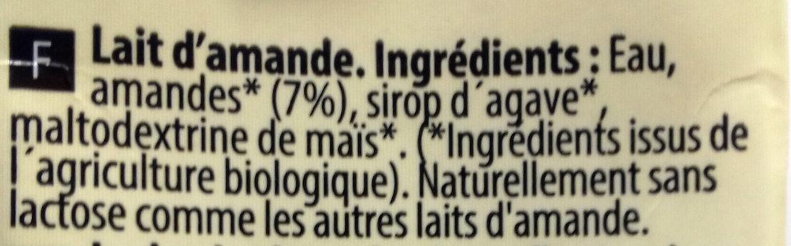 Almond - Ingredients - fr