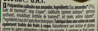 Cuisine Amande - Ingrédients - fr