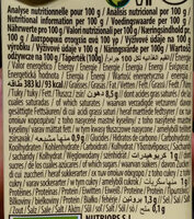 Cuisine Amande - Informations nutritionnelles