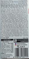 Napój z konopi bez cukru BIO - Voedingswaarden - pl