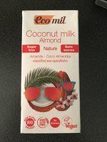 Coconut milk almond Nature - Produit