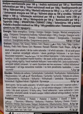 Coconut milk almond Nature - Voedingswaarden