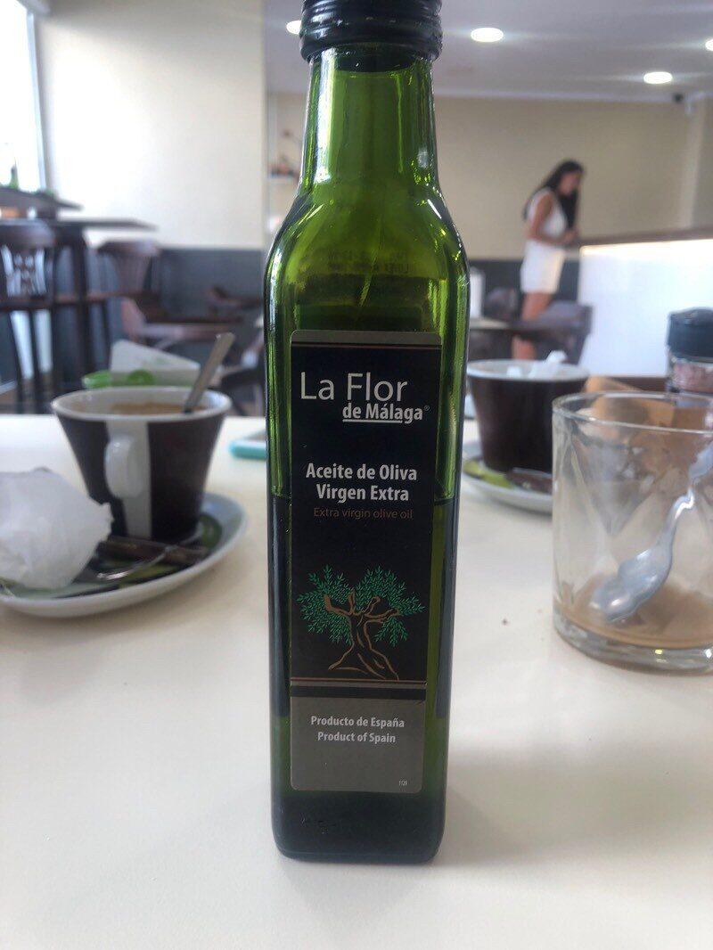 Aceite de oliva virgen extra La Flor de Málaga - Product
