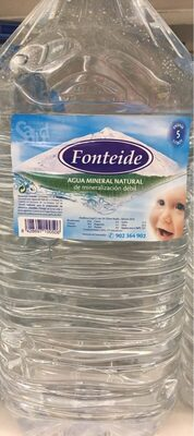 Agua mineral natural - Producto
