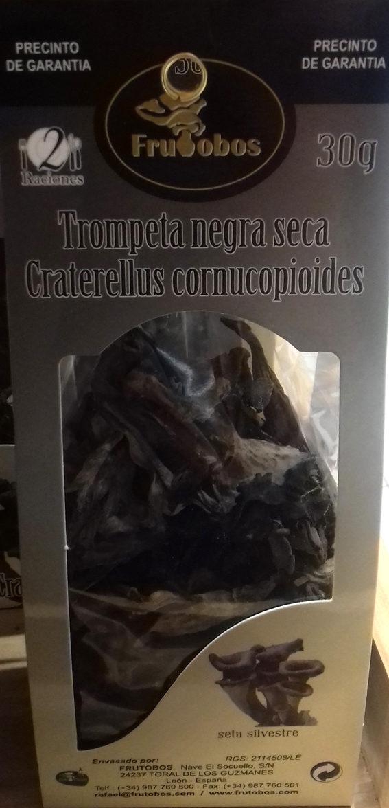 Trompeta negra seca - Producte