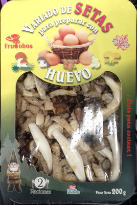 Variado de setas para preparar con huevo - Produit