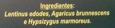 Variado de Setas - Ingredientes
