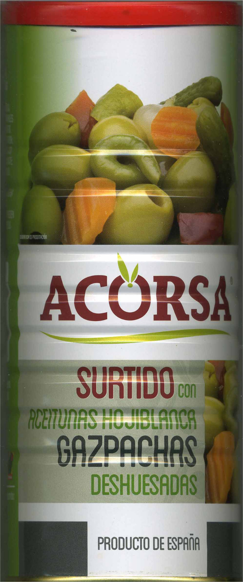 Aceitunas verdes deshuesadas aliñadas - Producto - es