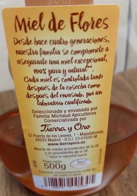 Miel Dosificador 1 / 2 500 Gr. luna De Miel - Ingredientes