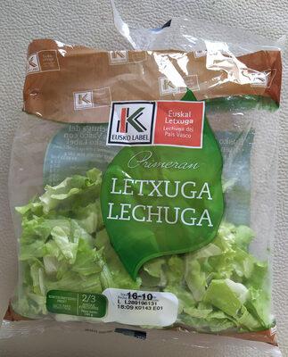 Lechuga Eusko Label