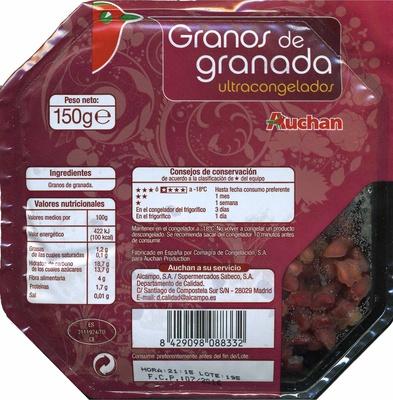 """Granos de granada congelados """"Auchan"""" - Product - es"""