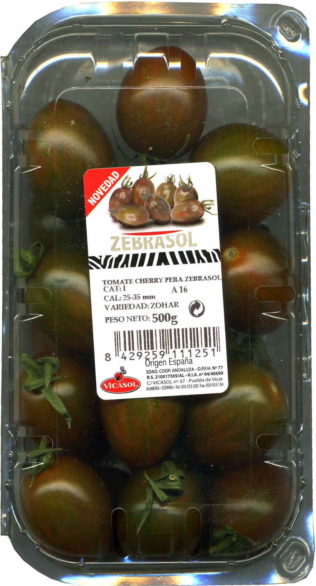"Tomates cherry ""Vicasol"" - Produit"