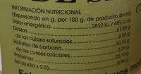 Puré de Sésamo (Tahine) - Nutrition facts