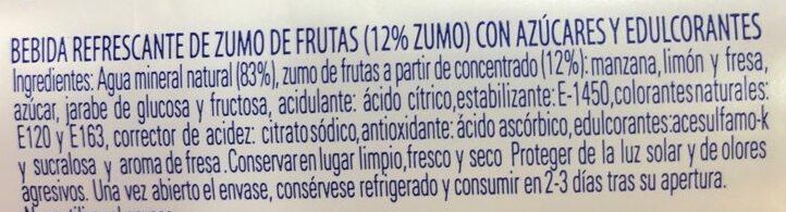 enjoy - Ingrédients - es