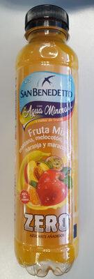 aguan mineral y zumo de frutas - Producto