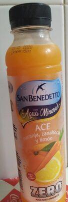 Agua mineral y zumo de frutas - Produit - es
