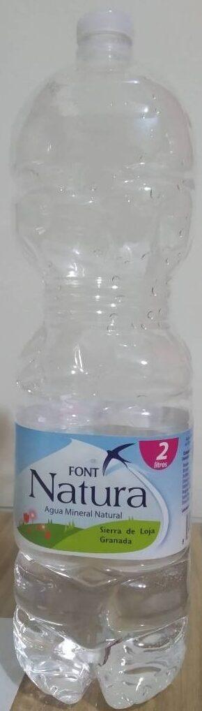 Agua Mineral Natural Font Natura - Producto - es
