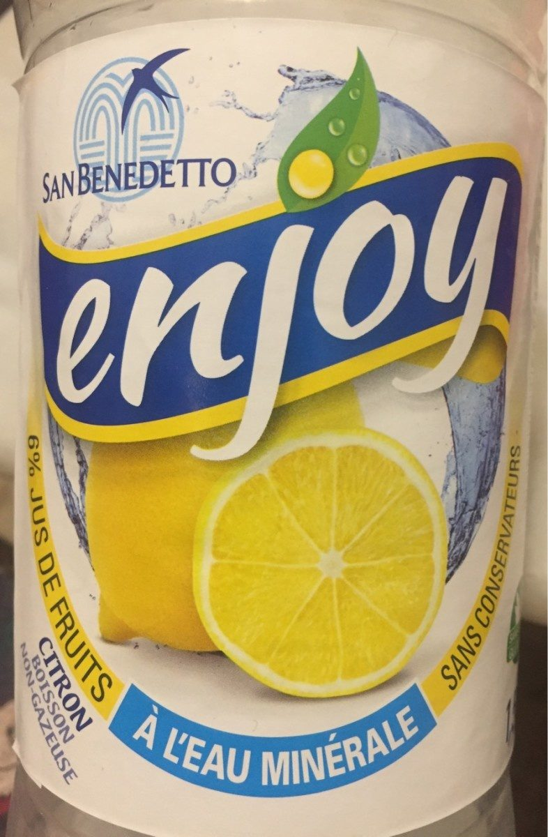Refresco Enjoy Limon 1,5L - Prodotto - fr