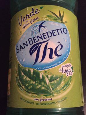 Té Verde con Áloe Vera - 1