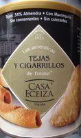 Tejas y cigarillos de Tolosa - Product - fr