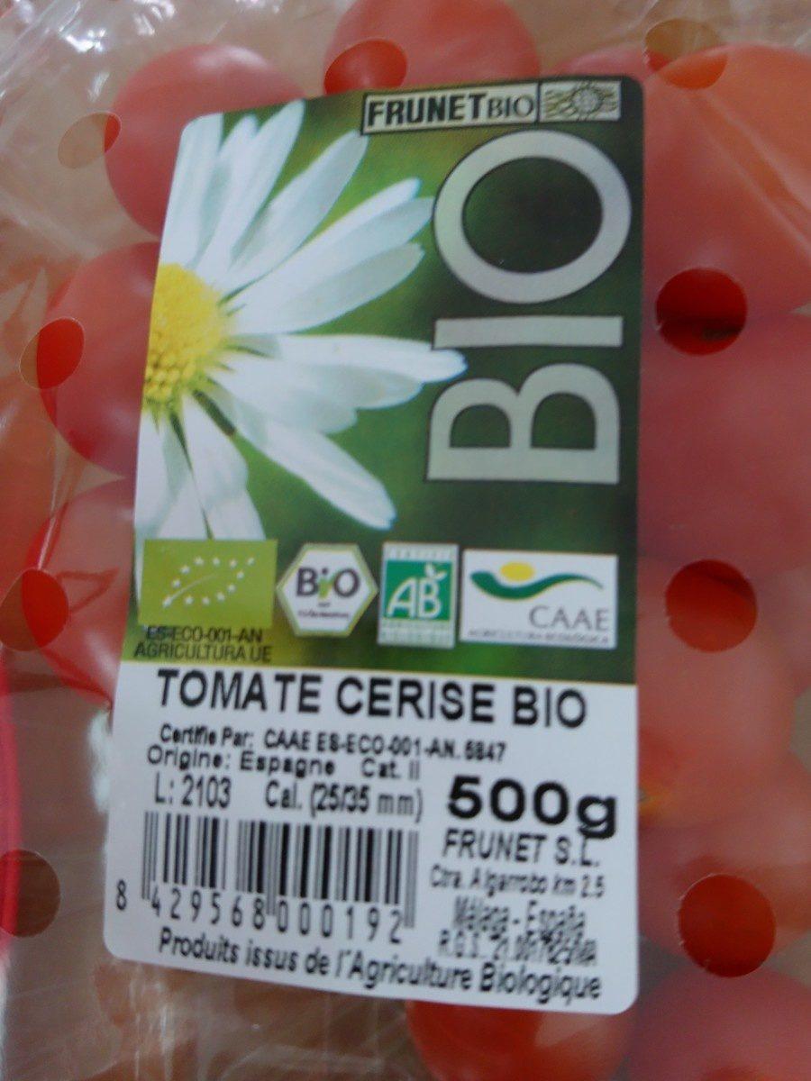 Tomate cerise bio - Ingrédients - fr
