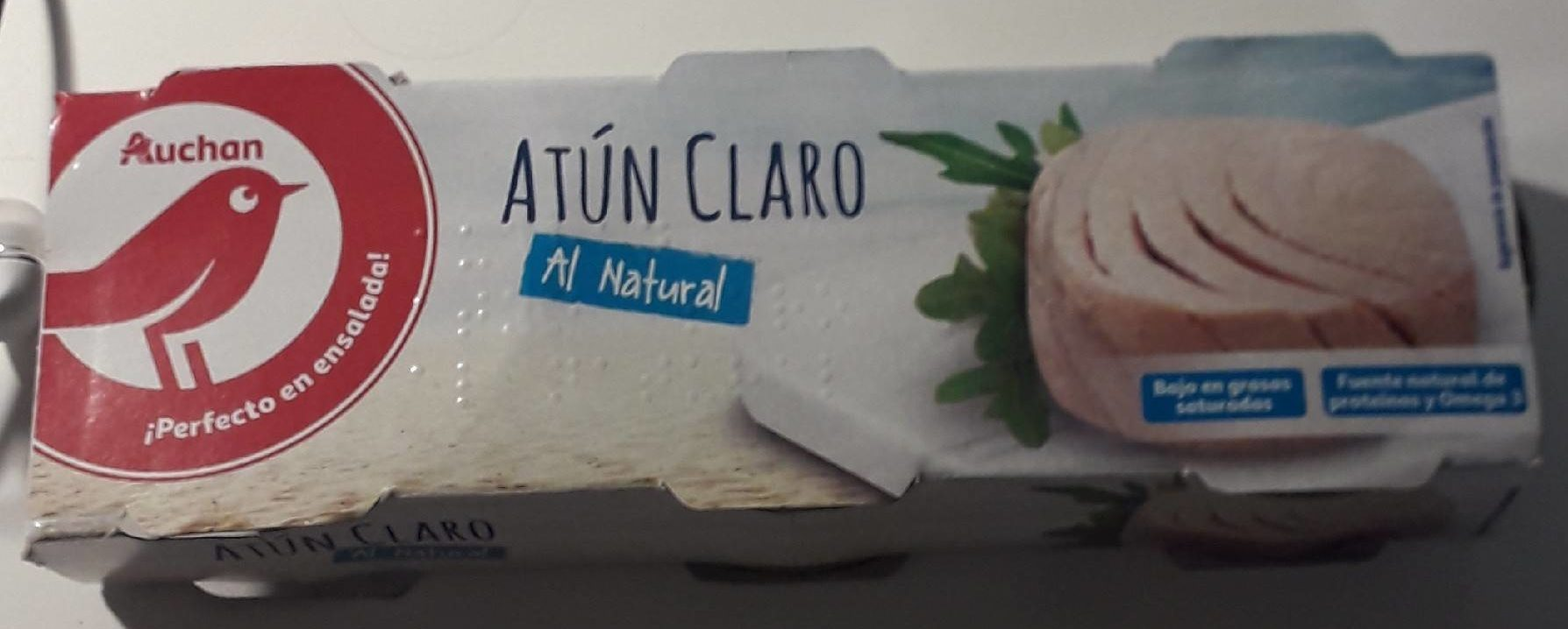 Atún claro al natural - Producte