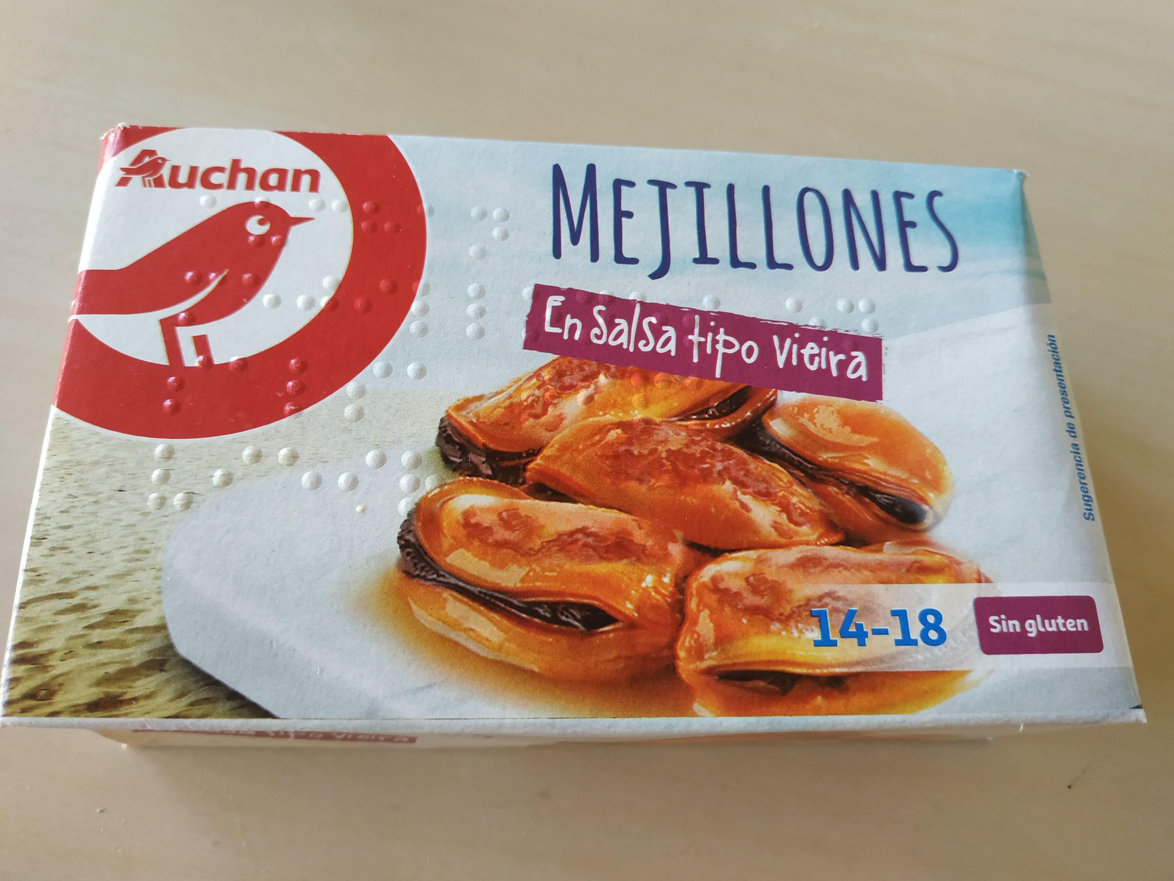 Mejillones en salsa tipo vieira - Producto