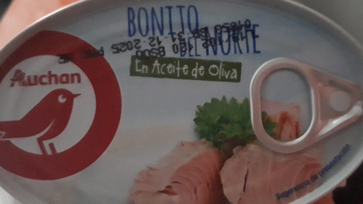 Bonito del norte en aceite de oliva - Producto - es