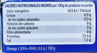 Bonito del norte en aceite de oliva - Información nutricional - es