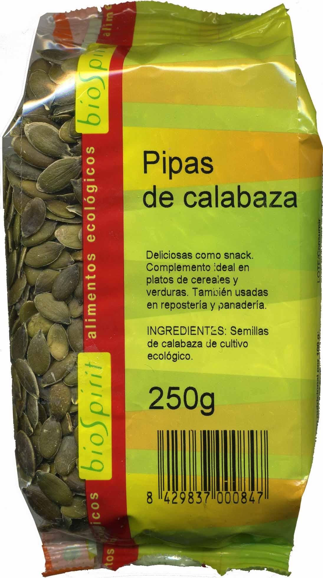 Semillas de calabaza sin cáscara - Producte - es