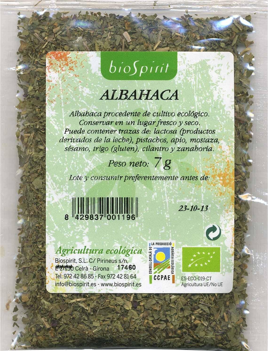 Albahaca seca molida - Producte - es