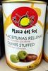 olives vertes farcies au chorizo - Produit