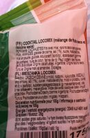 Loco mix - Nutrition facts - fr