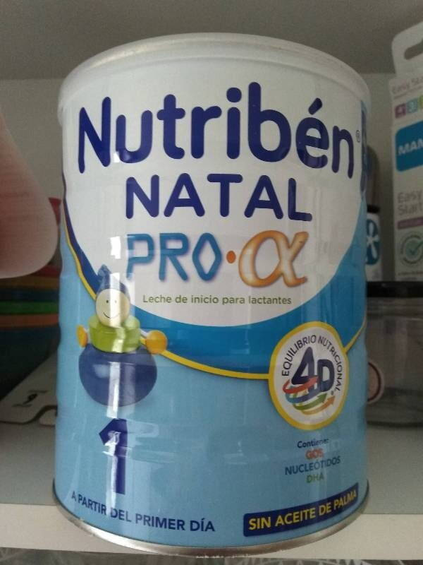Nutriben Natal 1 Pro Alfa 800G - Product