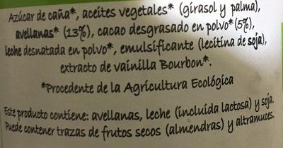 Crema al cacao - Ingredients