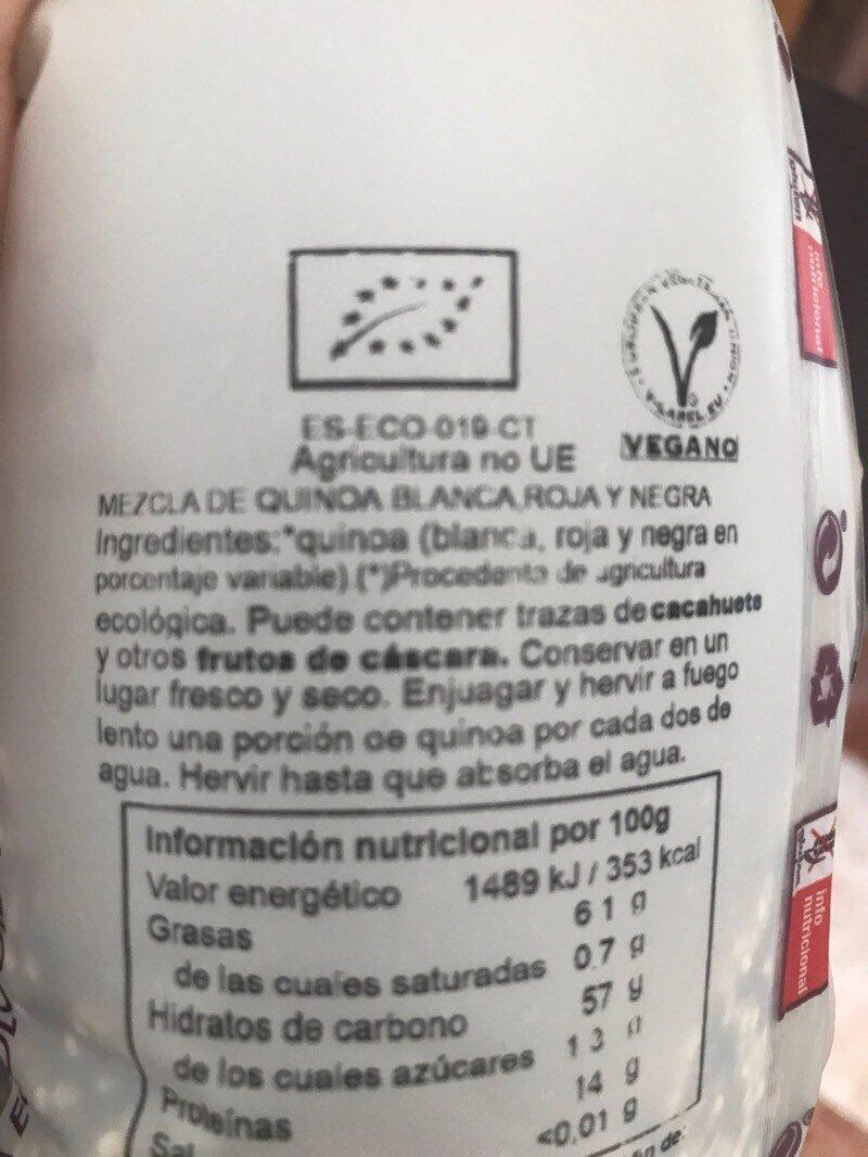 Quinoa - Ingrédients - es