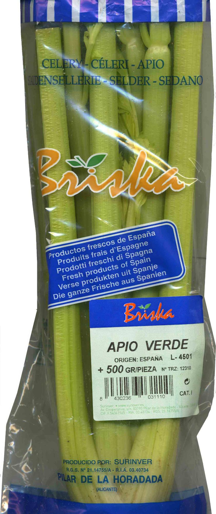 """Apio """"Briska"""" - Producto - es"""