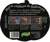 Calabaza de Halloween - Ingredients
