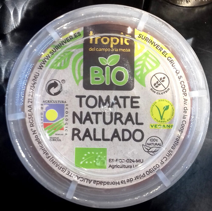 Tomate Natural Rallado - Producto
