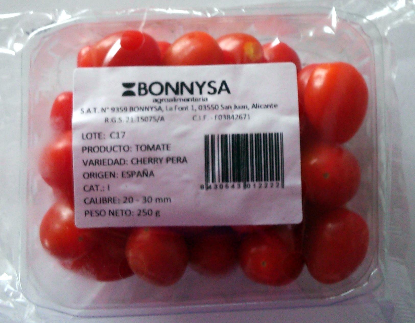 Tomates cherry pera - Producto - es