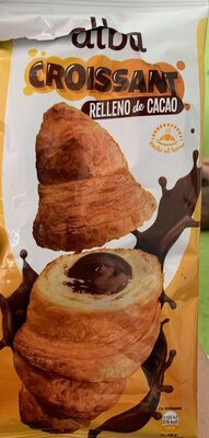 Croissant relleno cacao