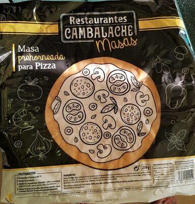 Masa prehorneada para pizza