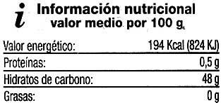 Mermelada Extra de ciruela - Información nutricional - es