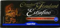 Chocolate fondant extrafino negro 48% cacao - Produit