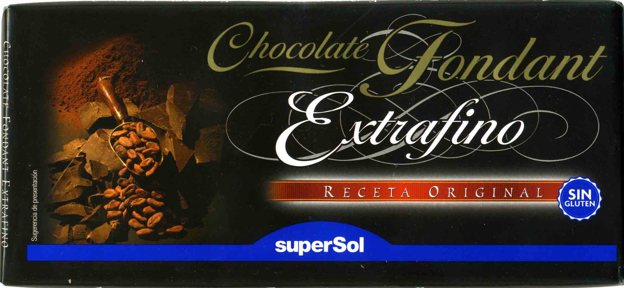 Chocolate fondant extrafino negro 48% cacao - Producto