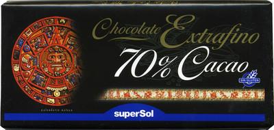 Tableta de chocolate negro 70% cacao - 6