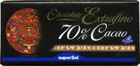 Tableta de chocolate negro 70% cacao - Produit - es