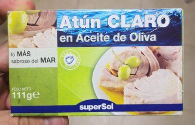 Atún claro en aceite de oliva - Producto