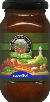 "Salsa napolitana ""SuperSol"" - Producto"